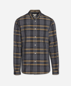 Berkeley Shirt - Heather Charcoal