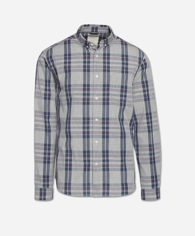 Berkeley Shirt - Heather Grey