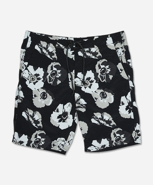Big Poppy Board Short - Black