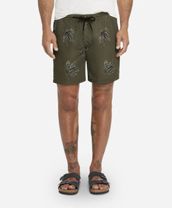 Bloom Boardshort - Olive