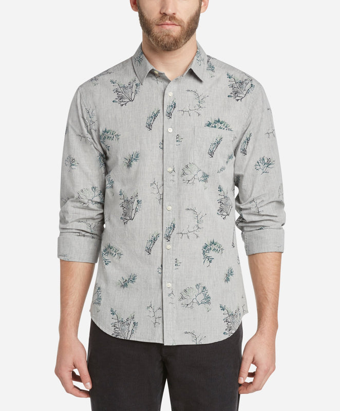 Botanist Shirt - Heather Grey