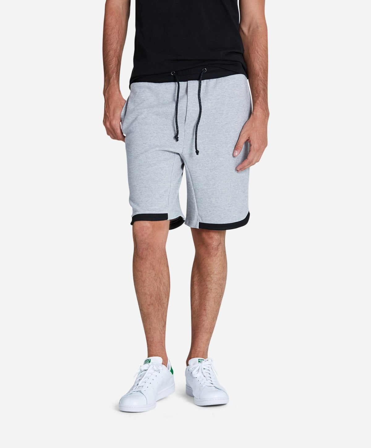 Boxing Short - Heather Grey