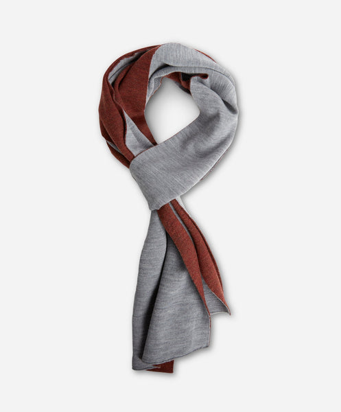 Bradley Scarf - Heather Grey