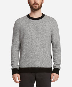 Clermont Crew Sweater - Light Heather Grey