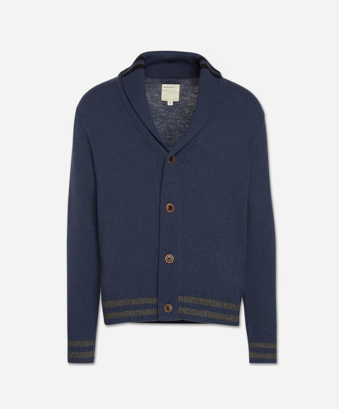 Collegiate Cardigan - Blue Blood