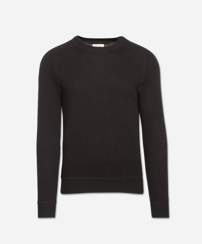 Columbia Cashmere Crew Sweater - Black