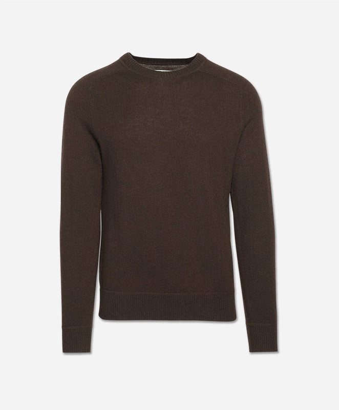 Columbia Cashmere Crew Sweater - Heather Caribou
