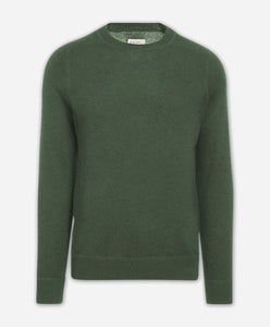 Columbia Cashmere Crew - Heather Green
