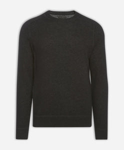 Columbia Cashmere Crew - Heather Black