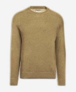 Columbia Cashmere Crew - Heather Camel