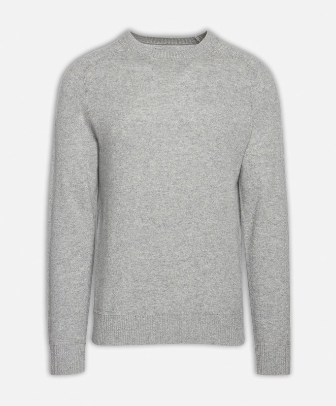Columbia Cashmere Crew - Light Heather Grey