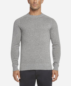 Columbia Cashmere Crew Sweater - Heather Grey