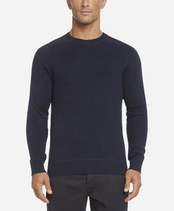 Columbia Cashmere Crew Sweater - Blue Blood