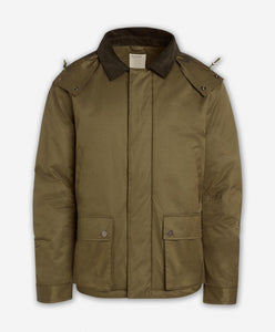 Combat Parka Coat  -  Willow
