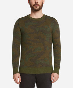 Combat Reversible Crew Sweater - Heather Sprig