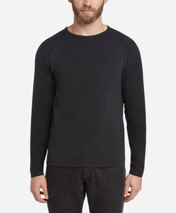 Cricket Raglan Tee - Black