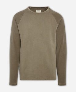 Cricket Raglan Tee - Portobello