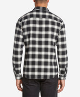 Dark Shadow Flannel Shirt  -  Irish Cream