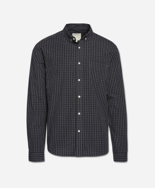 Das 2.0 Checked Shirt - Black