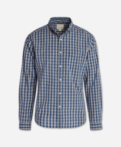 Das Checked Shirt - Blue Agave