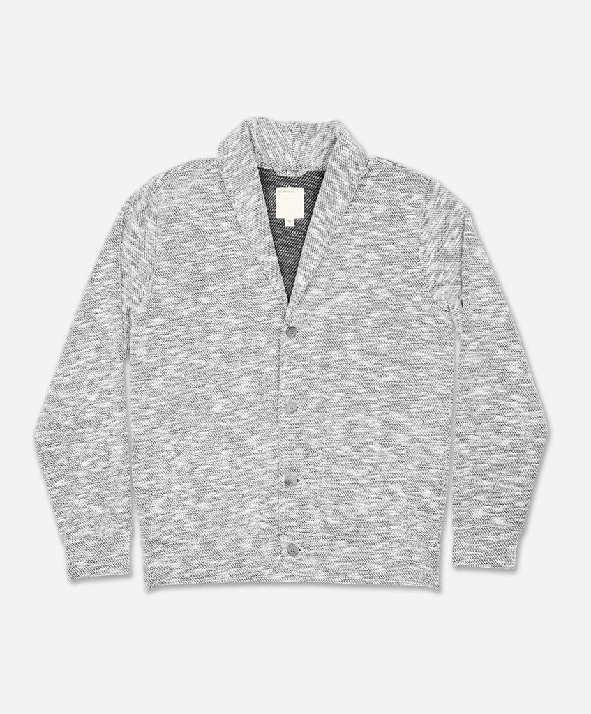 Del Rey Cardigan - Light Grey Jaspe