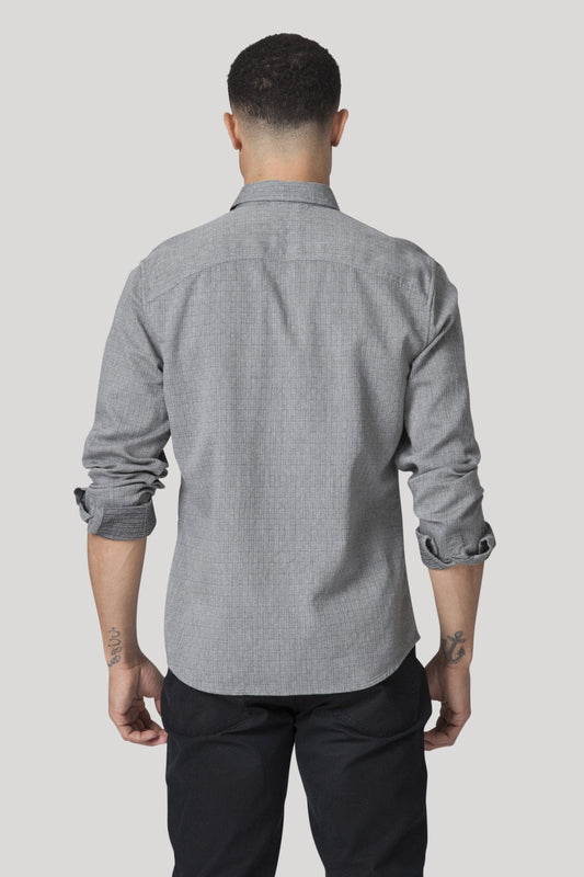 Denmark Shirt - Heather Charcoal
