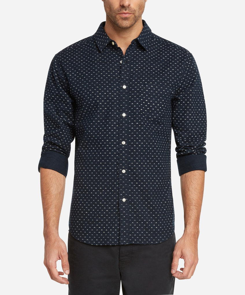 Dragon's Triangle Shirt - Indigo