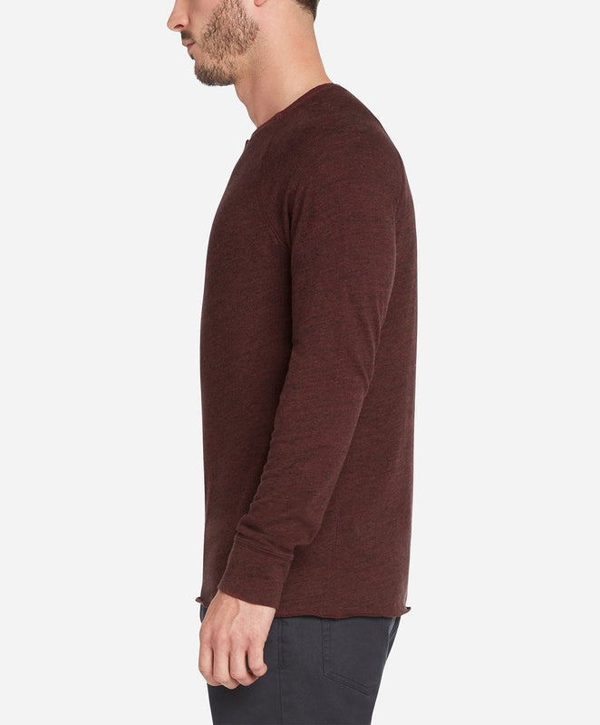 Eagle Rock Henley - Heather Space Jam