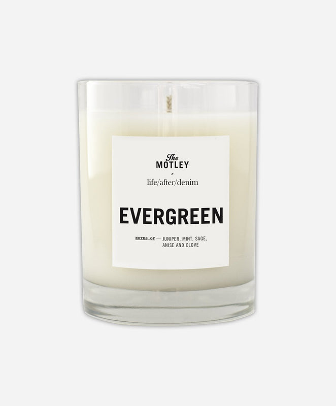 The Motley + LAD Candle - Evergreen