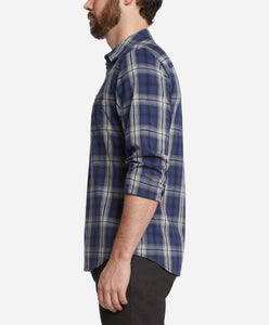 Fairmount Plaid Shirt - Blue Jay