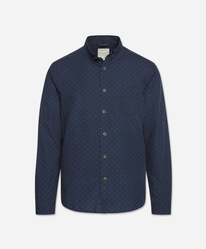 Far East Shirt - Blue Blood
