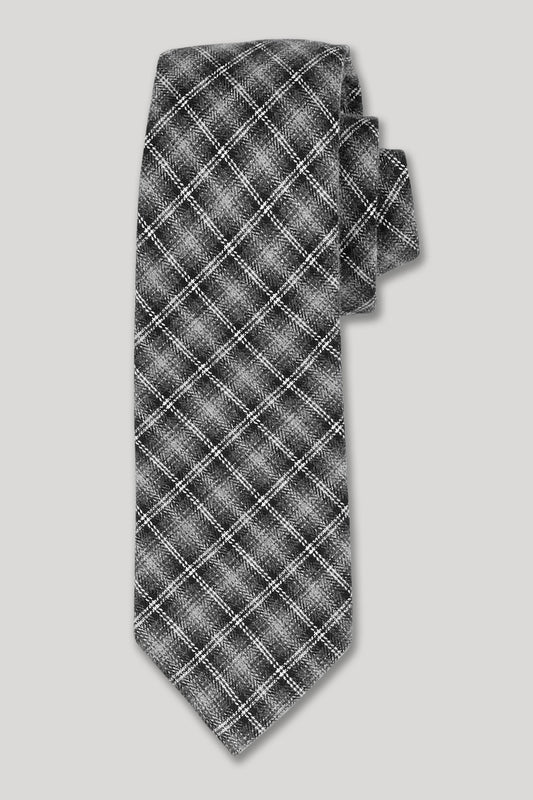 Fiskebar Tie - Heather Charcoal
