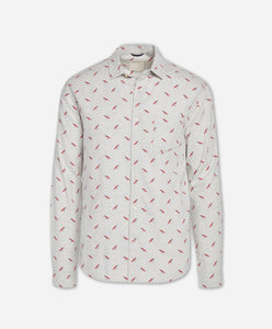 Fly Fishing Shirt - Light Heather Grey