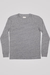 Football Tee - Heather Grey