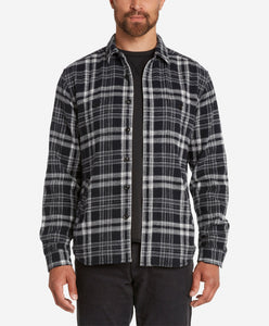 Forest Shirt Jacket  -  Black