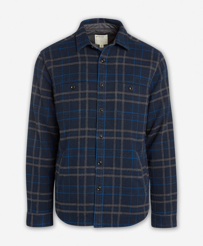 Forest Shirt Jacket  -  Navy