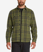 Forest Shirt Jacket  -  Willow