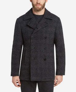 Glastonbury Japanese Wool Coat - Heather Grey