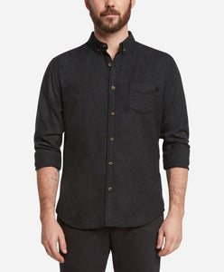 Greenpoint Flannel Shirt - Heather Black