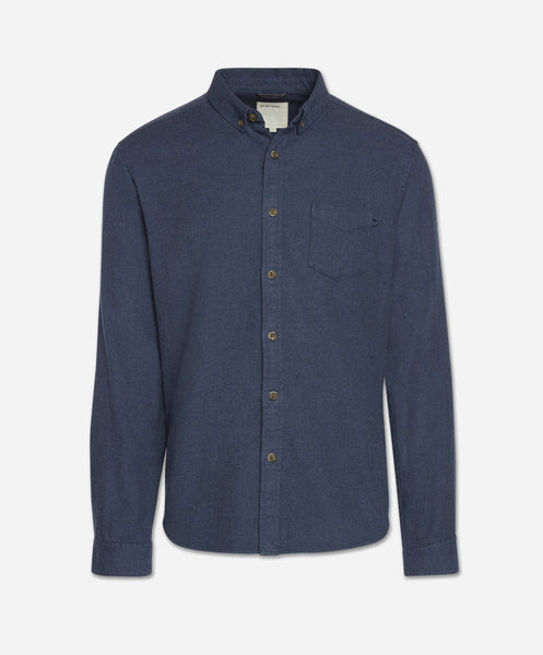 Greenpoint Shirt - Heather Blue Blood
