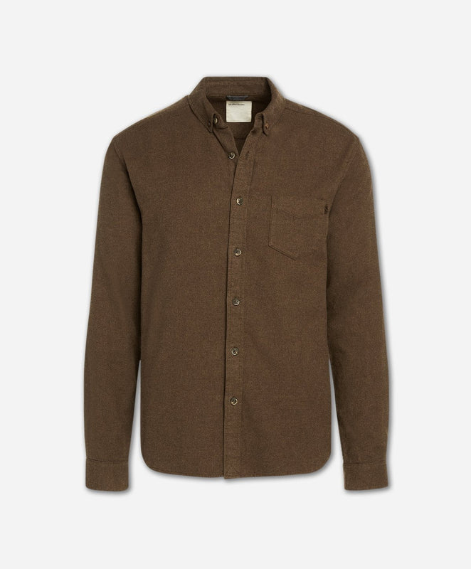 Greenpoint Flannel Shirt - Heather Caribou