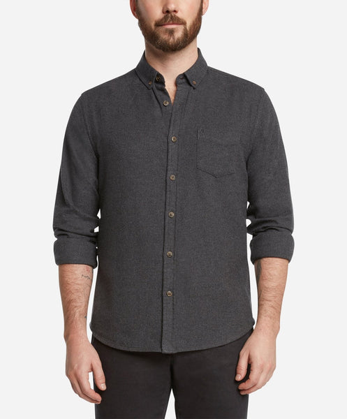 Greenpoint Shirt - Heather Charcoal