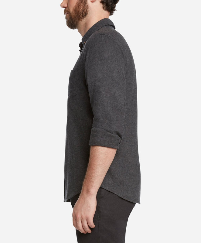 Greenpoint Flannel Shirt - Heather Charcoal