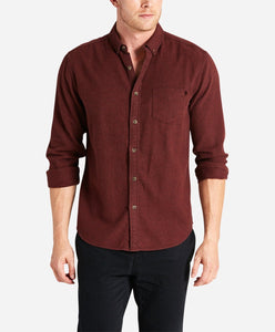 Greenpoint Flannel Shirt - Heather Pigskin