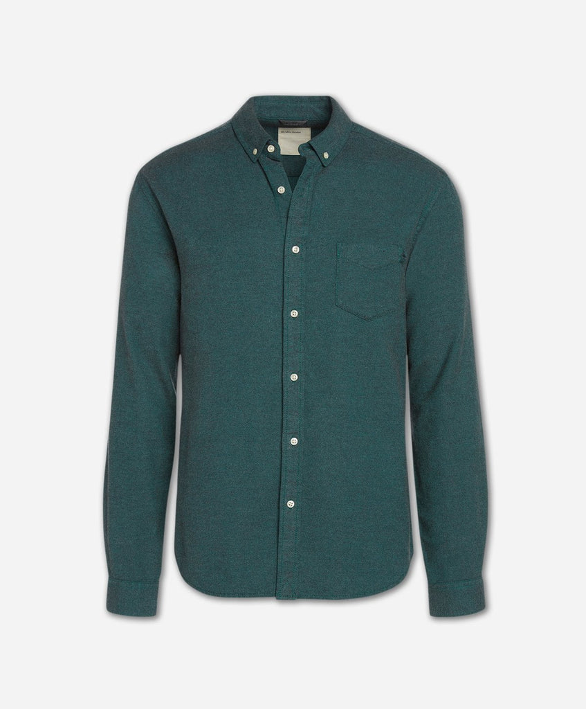 Greenpoint Flannel Shirt - Mallard Green