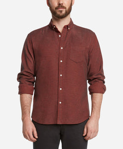 Greenpoint Flannel Shirt - Red Leaf
