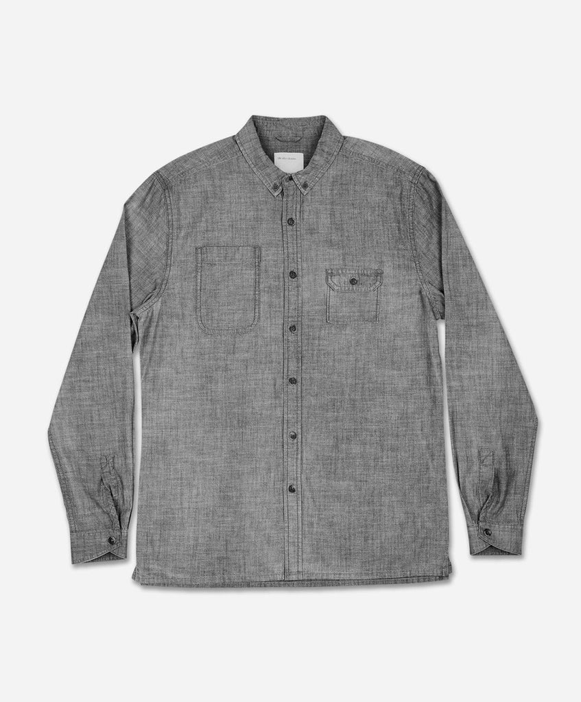 Griffith Workwear Shirt - Dark Grey