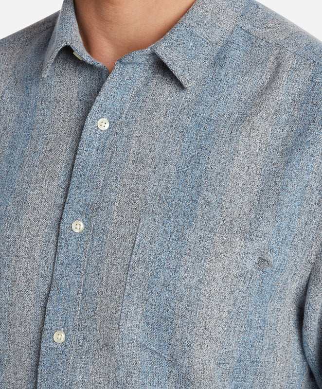 Grimm Flannel Shirt - Blue Bell
