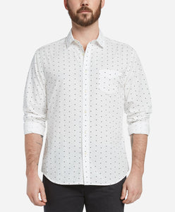 Grizzly Print Shirt - White