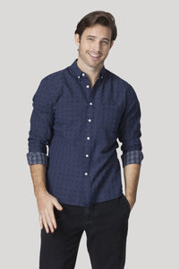 Gunnar Shirt - Navy